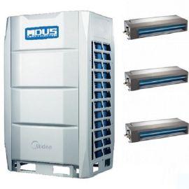 美的商用大型中央空调工程项目 美的多联机