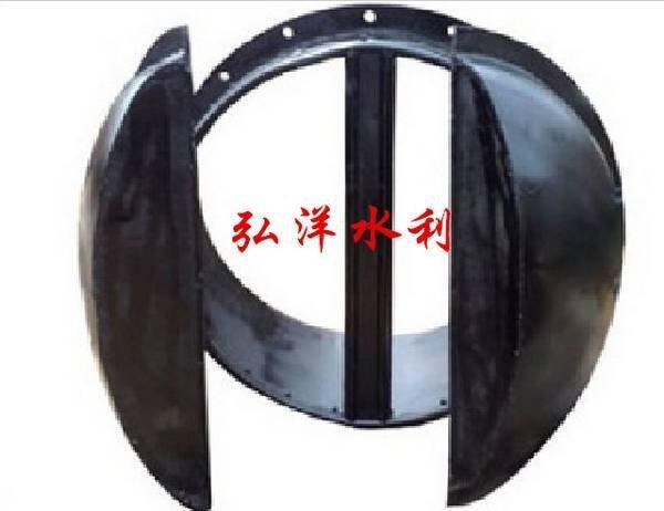 弘洋水利供應鑄鐵雙開拍門  鑄鐵拍門 PM  也可按需定製