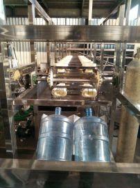 【定做供应】QGF-300桶灌装机、3加仑5加仑果汁饮料热灌装设备