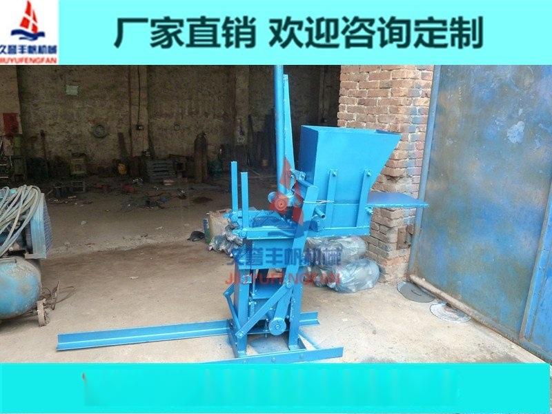 人工黏土砖机 免电人力砖机 小型黏土砖机