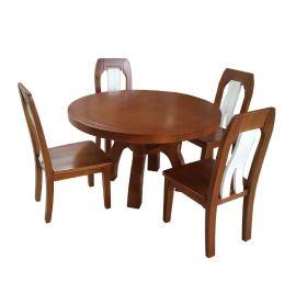 厂家直销全原木制作圆餐桌