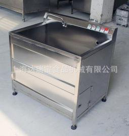 臭氧消毒洗菜机 单双缸不锈钢气泡清洗设备