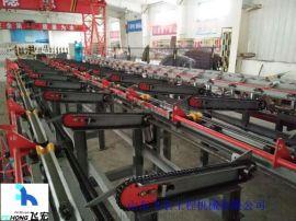 山东飞宏锯切镦粗套丝打磨生产线,全自动化设备