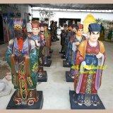 豫莲花十殿阎君神像 阎罗王塑像 十殿阎罗佛像