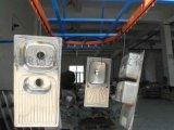 浙江懸掛式不鏽鋼拉伸盤廚具超聲波自動清洗烘幹線
