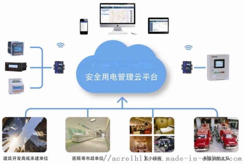 安科瑞自主研发安全用電管理雲平台 智慧安全用電雲平台
