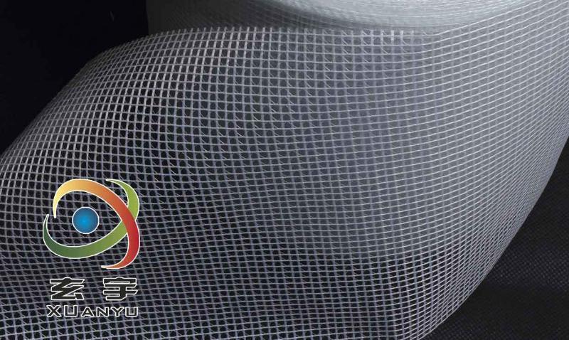 PVC透明夹网布、文件袋专用布