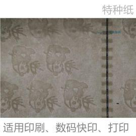 105克安全線熊貓浮水印紙廠家防僞紙 定制合同防僞紙