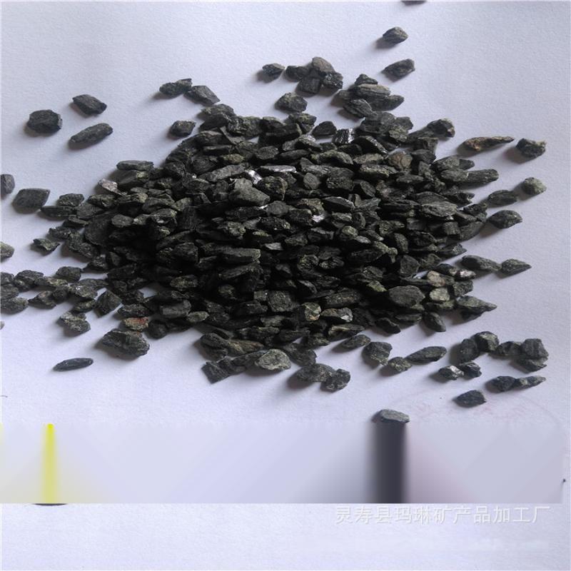 批發4-8mm晶體電氣石顆粒 電氣石陶瓷球水處理