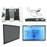 生产供应65寸透明屏触摸展示柜广告机 OLED透明拼接屏