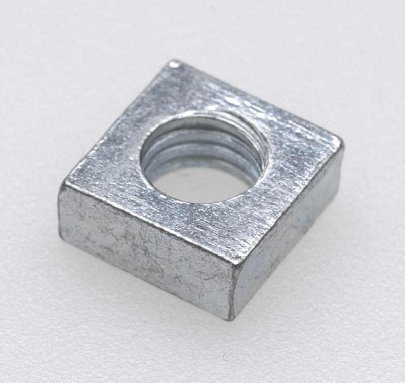 304不鏽鋼美製四方螺帽 方螺母 方形螺母 6# 8# 10# 1/4 5/16 3/8