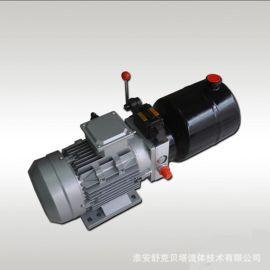 380伏电机1.5KW,4L油箱,手动控制阀