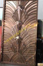 會所鏡面玫瑰金高端奢華不鏽鋼門|不鏽鋼門花展示