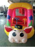 吉林双人公园彩灯充气电瓶车外罩 儿童气模游乐玩具车