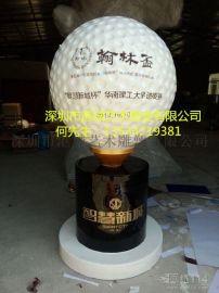 国内高尔夫球雕塑厂家 高尔夫球人物雕塑制品