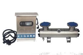 户外防雨分体式不锈钢电控箱紫外线消毒器安装图