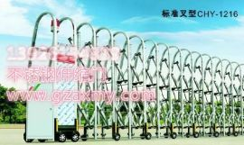 伸缩门价格 无轨电动伸缩门订做 不锈钢伸缩门厂家