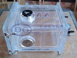 小型高压电源实验亚克力有机玻璃操作箱,防护箱