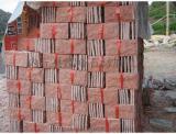 紅色文化石廠家,外牆石材,桃紅玉文化石外牆磚