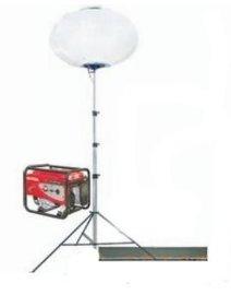 支架式气球灯