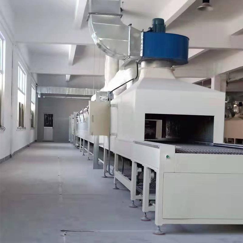 自動烘幹線,隧道式烘幹線,網帶式烘幹線
