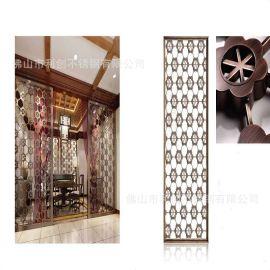 供应玫瑰金不锈钢屏风 玫瑰金不锈钢屏风加工批发 不锈钢屏风工厂