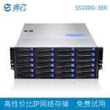 36盤位磁盤陣列 IPSAN NAS ISCSI經濟型IP網路存儲 視頻監控存儲