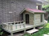 泰迪比熊貴賓中型犬戶外防水木製狗屋狗窩狗籠狗房子寵物屋