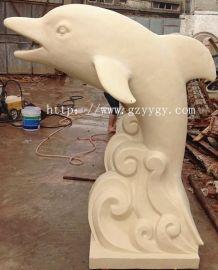 砂岩雕塑厂家批发 砂岩艺术雕塑 砂岩海豚雕塑价格 砂岩艺术圆雕