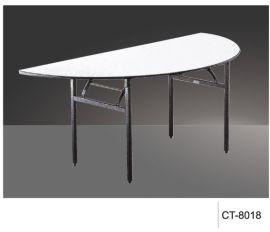 【厂家直销】酒店中餐厅组合桌 可折叠 可分拆多功能餐桌CT-8018