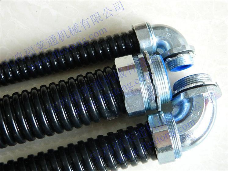 機牀耐油穿線包塑軟管/阻燃包塑波紋管