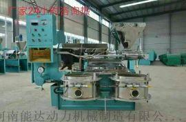 厂家直销河南周口多功能全自动光华牌榨油机 花生米榨油机设备 小型榨花生油机