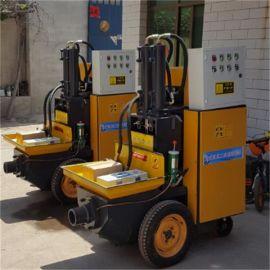 液压二次构造柱泵小型细石泵细石砂浆输送泵上料机