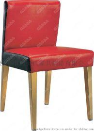 實木軟包餐椅,包皮實木腳餐椅廣東鴻美佳廠家批發價格提供