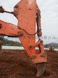 日立挖掘機450巖石臂,風化巖挖掘機