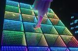 新LED 鏡面地磚