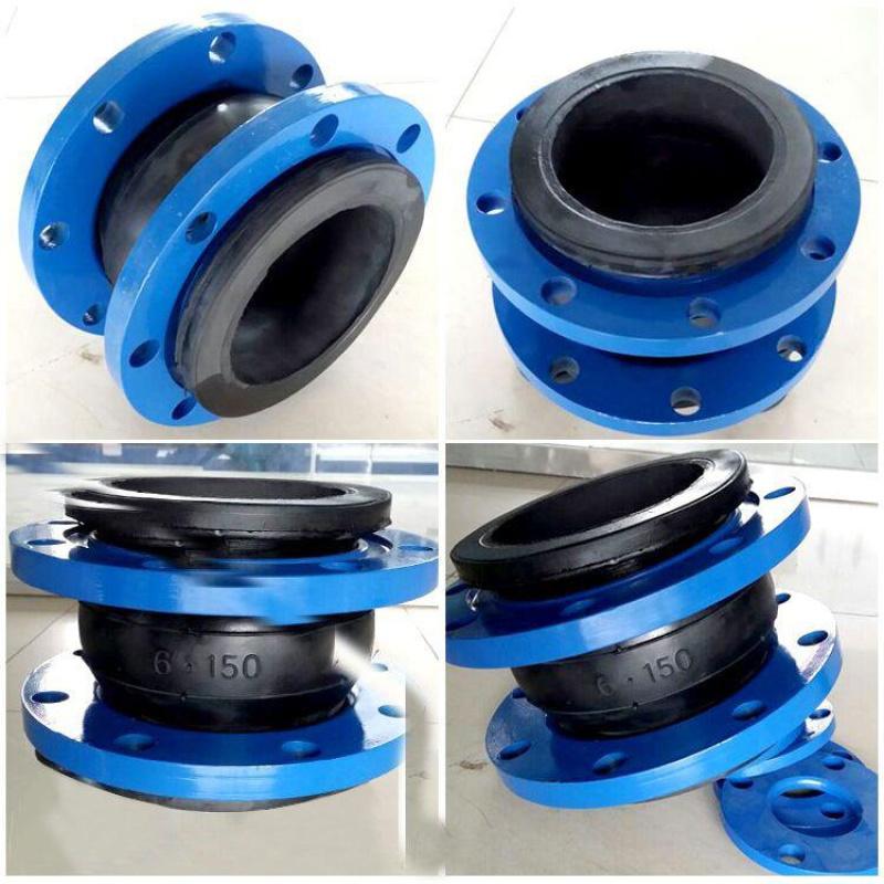 保定生产 可曲挠橡胶软接头 耐磨软连接 安装灵活
