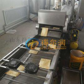 DRG新款燃煤薄脆油炸设备 带滤渣 薄脆脆皮油炸机
