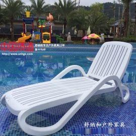 意大利进口的ABS泳池躺椅怎么调节
