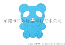 硅胶小熊儿童餐垫 硅胶防滑防烫桌垫 隔热餐垫杯垫
