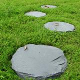 天然青石板别墅花园踏步石 园林庭院铺路石 防滑地板砖草坪石