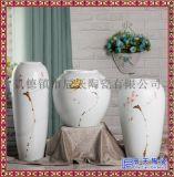 景德镇陶艺摆件 客厅创意装饰瓷器花瓶三件套