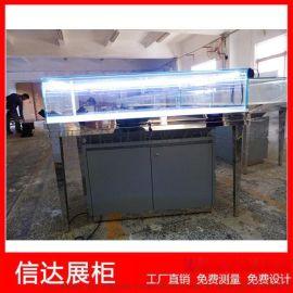 不锈钢珠宝展览柜台产品陈列柜精品玻璃展示柜