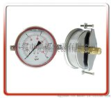 100MM轴向带支架耐震油压表