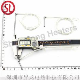 单头烧烤炉加热管微型电热管干烧型模具烧水棒380V