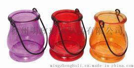 厂家销售 圣诞节 万圣节 蜡烛杯 玻璃烛台