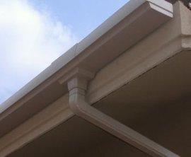 彩铝落水管 彩铝落水管 彩铝雨水管 排水系统