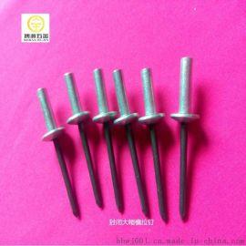 封闭型扁圆头铝抽芯铆钉GB12615
