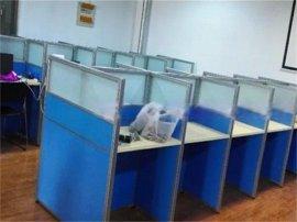 员工电脑桌|办公卡位桌图片|郑州组合式电脑办公桌