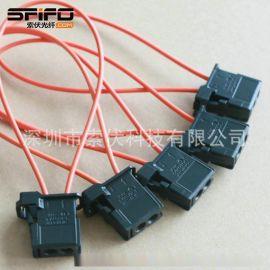 汽车MOST智能通讯光纤跳线 1355750